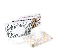 Itzy Ritzy: Take & Travel Pouch Reusable Wipes Case (Blush Floral)
