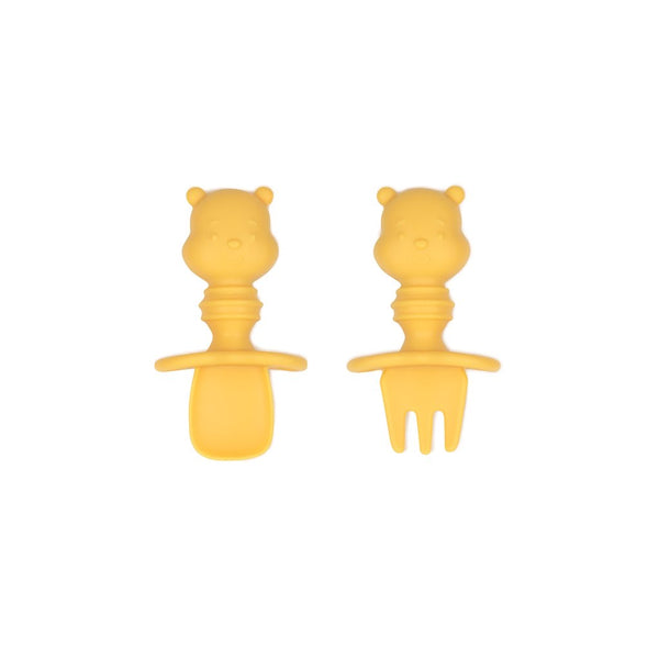 Bumkins: Silicone Chewtensils (Winnie the Pooh) - Fancy Tot