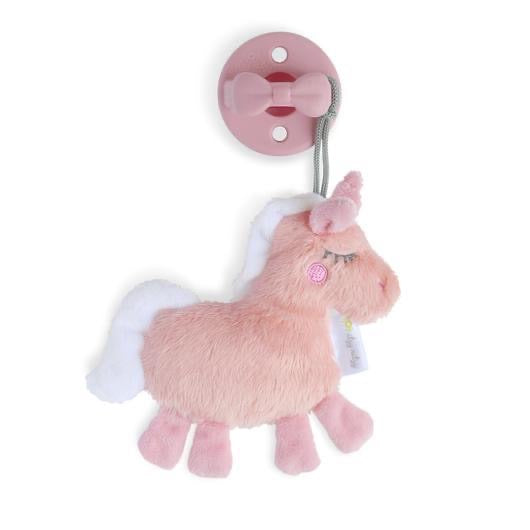 Itzy Ritzy: Sweetie Pal™ with Pacifier (Unicorn) - Fancy Tot