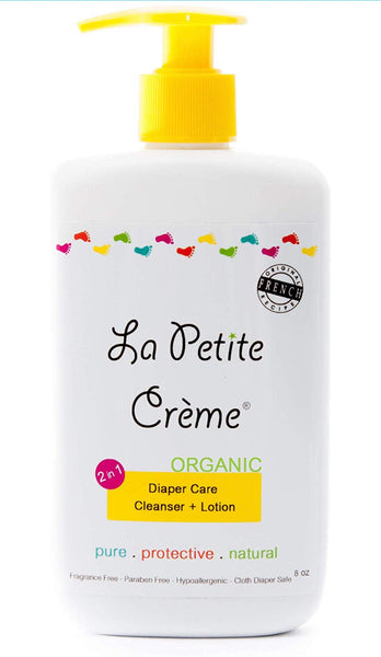 Le Petite Creme: Everyday Bottle w/ Pump (8 oz) - Fancy Tot