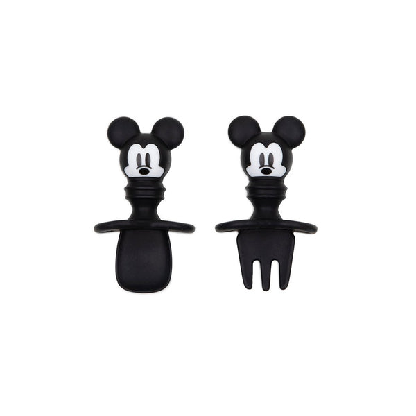 Bumkins: Silicone Chewtensils (Mickey Mouse) - Fancy Tot