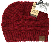 CC Beanie: Solid Classic Beanie Tail (Adult) (Rose) - Fancy Tot