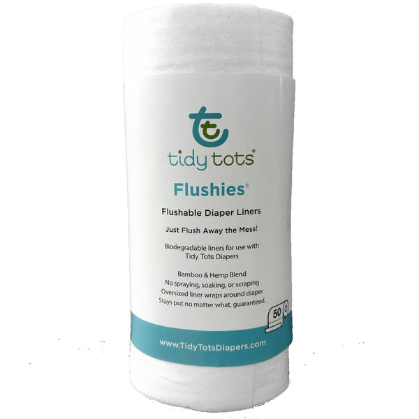 Tidy Tots: Flushies (Diaper Liners)