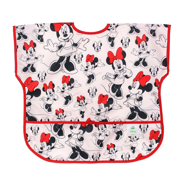 Bumkins: Junior Bib (Minnie Mouse Classic) - Fancy Tot