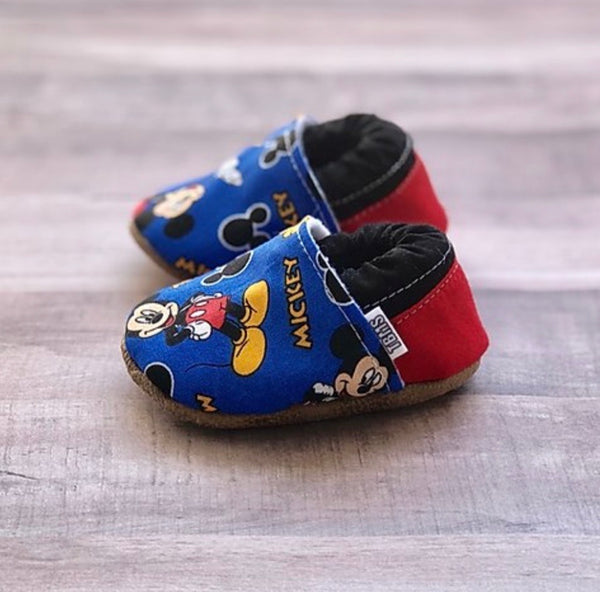 TBMS: Low Tops (Mickey) (0-3 Months)