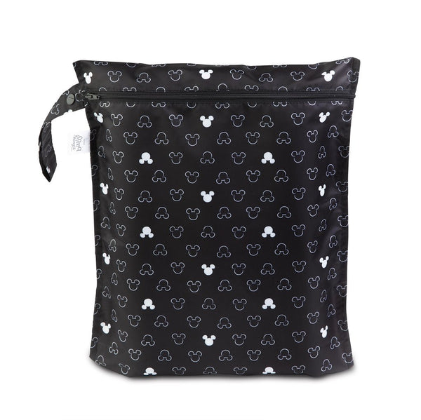 Bumkins: Wet Bag (Mickey Mouse BW)