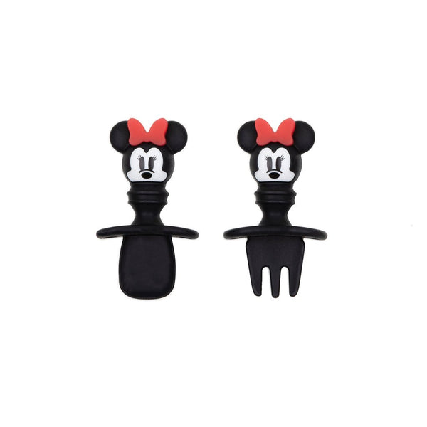Bumkins: Silicone Chewtensils (Minnie Mouse) - Fancy Tot