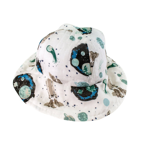 Bebe au Lait: Sun Hat (Space) - Fancy Tot