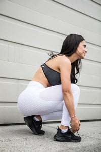 Nara Legging - White