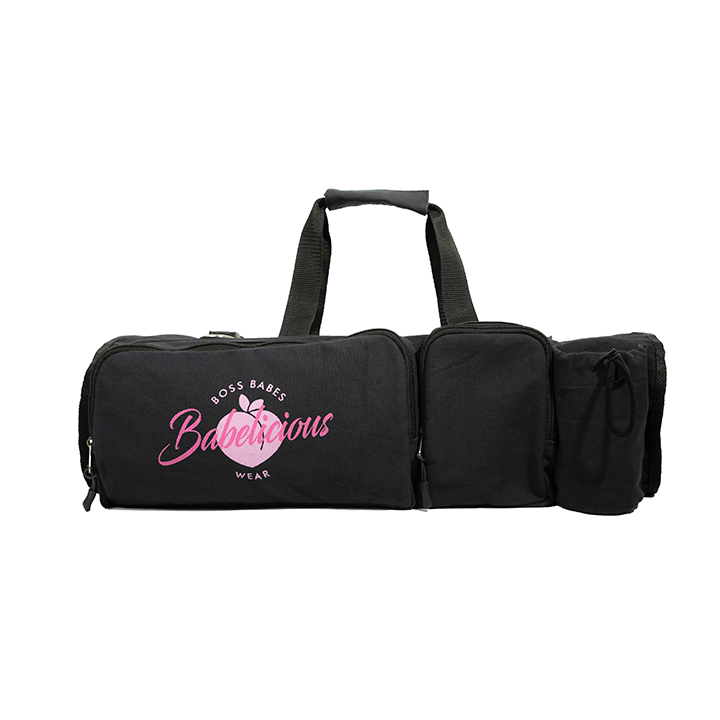 BOSS BABE YOGA BAG - black