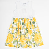 APOG9215 Lemon Roses Dress