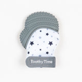 GDHLTM01 Toothy Time Mitt Grey