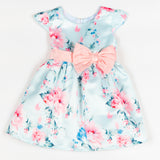 GDLMPD02 Mint Floral Party Dress