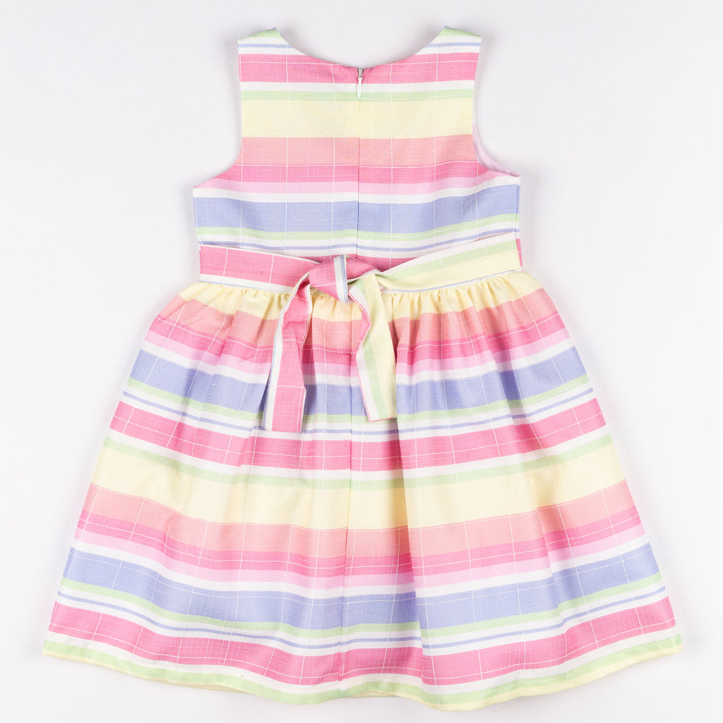 GDLMPD07 Pastel Stripe Party Dress