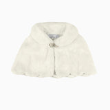 GDXXST07 Cream Faux Fur Stole