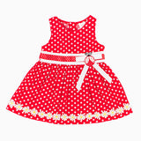 MSJG7502 Red Polka Dot Dress