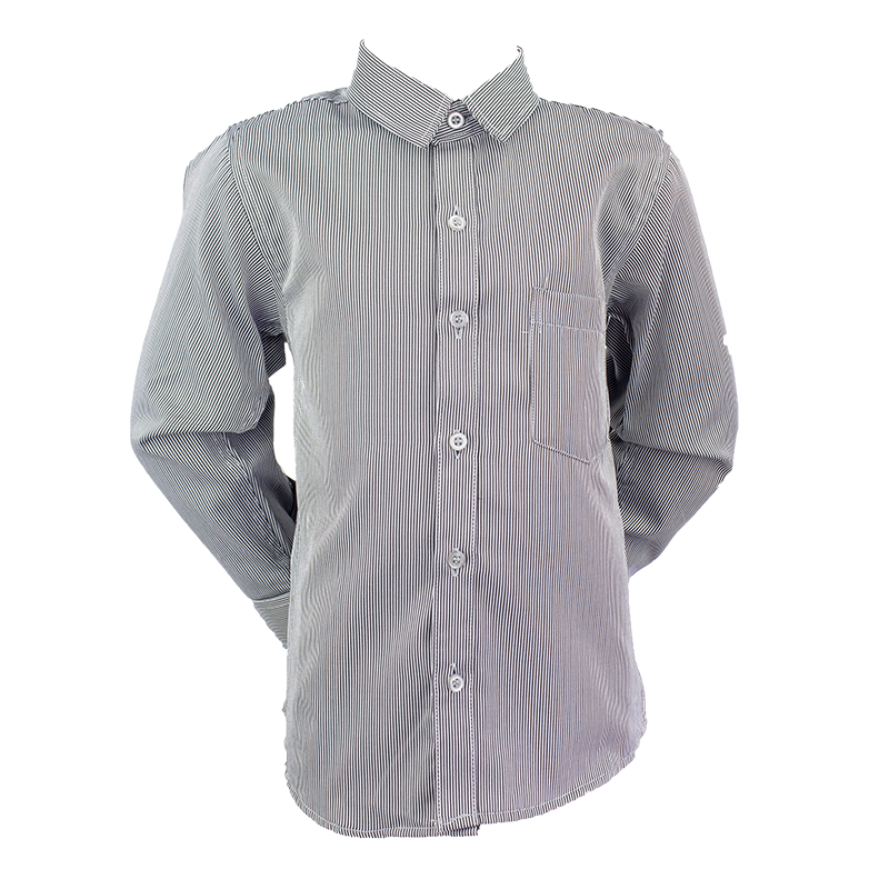 Formal Boys Shirt Grey 2-5