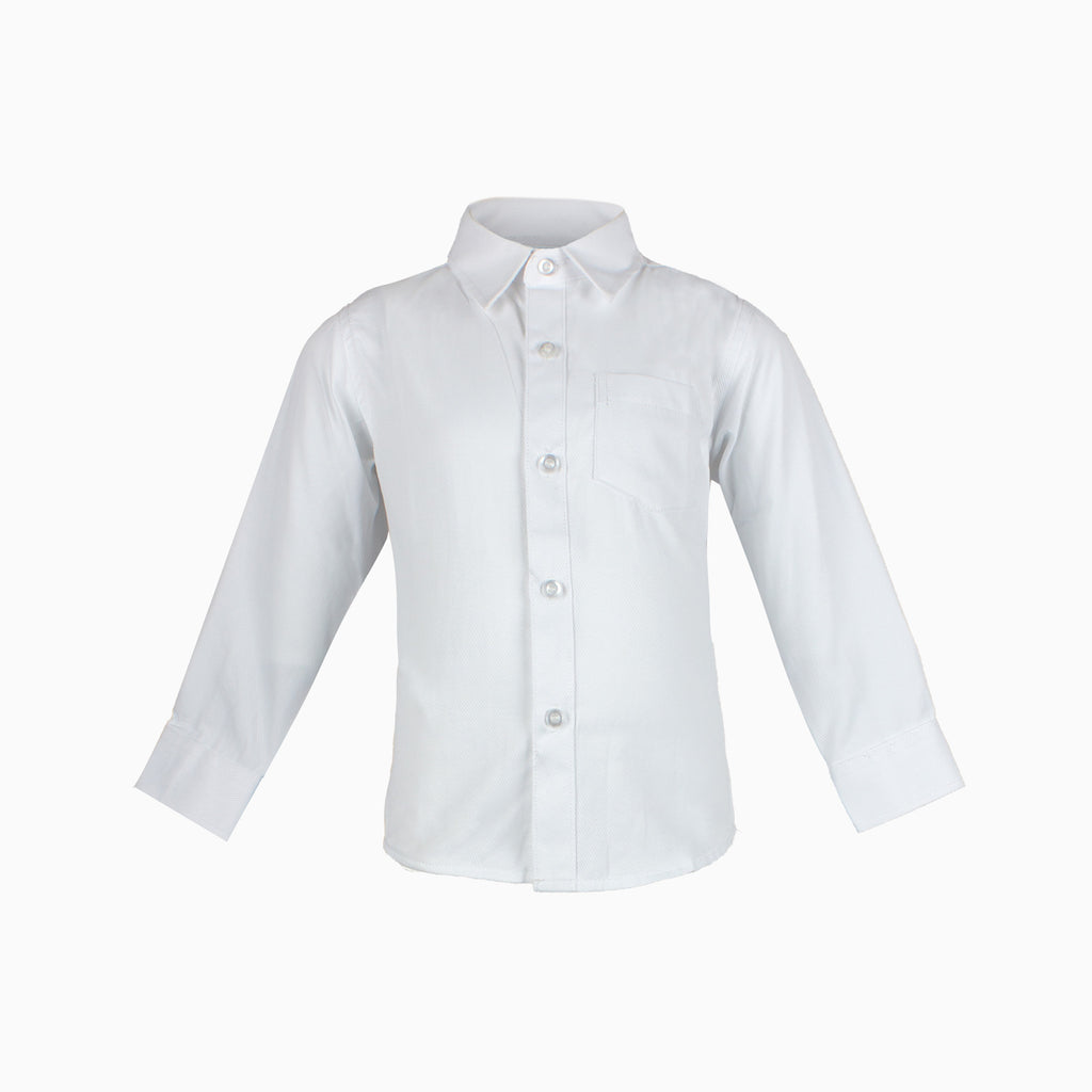 Formal Boys Shirt White 00-5