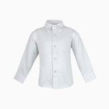 MWSH22 Formal Boys Shirt White 6-13