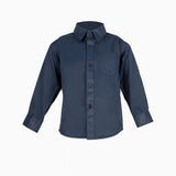 Formal Boys Shirt Navy 00-5