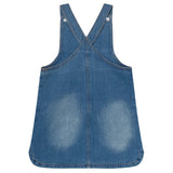 DENIM DAYS PINAFORE DRESS