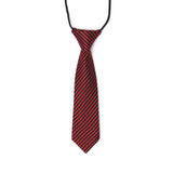YWFM87 Red Black Stripe Tie