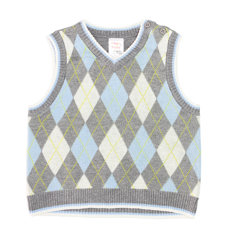 VEST BOYS HARVARD KNIT