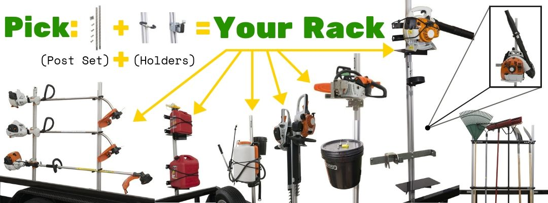 Build Your Trailer Equipment Rack