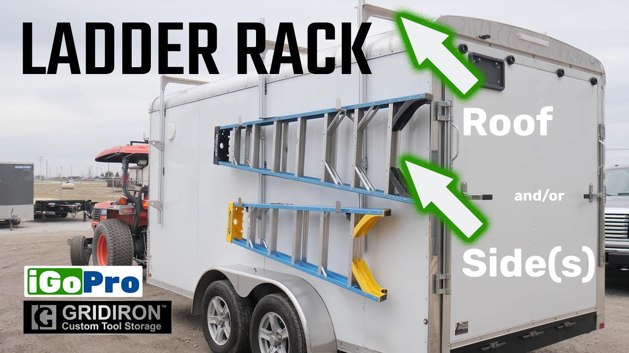 Ladder Rack for Enclosed Trailer