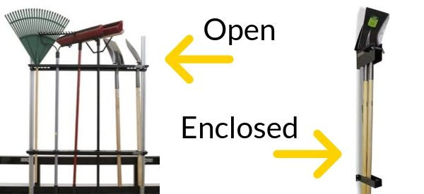 Open or Enclosed Trailer Racks For Hand Tools