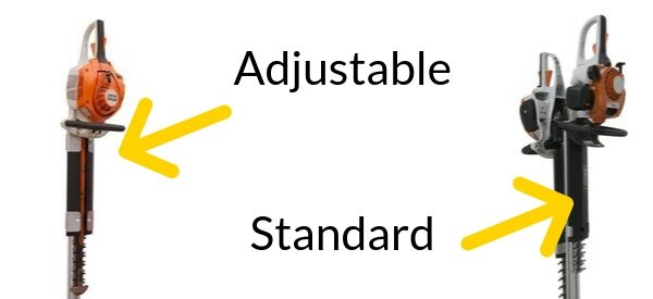 Standard vs Adjustable Hedge Trimmer Trailer Racks