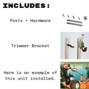 String Trimmer 'Mower Mount' Rack Bundle