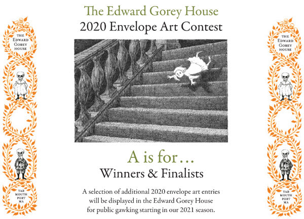 Edward Gorey 2020 Envelope Contest Winner