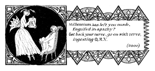 Edward Gorey He Wrote it all Down Zealously QRV Image