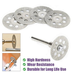 Made in Germany >> Electroplated Rotary Cutting Discs