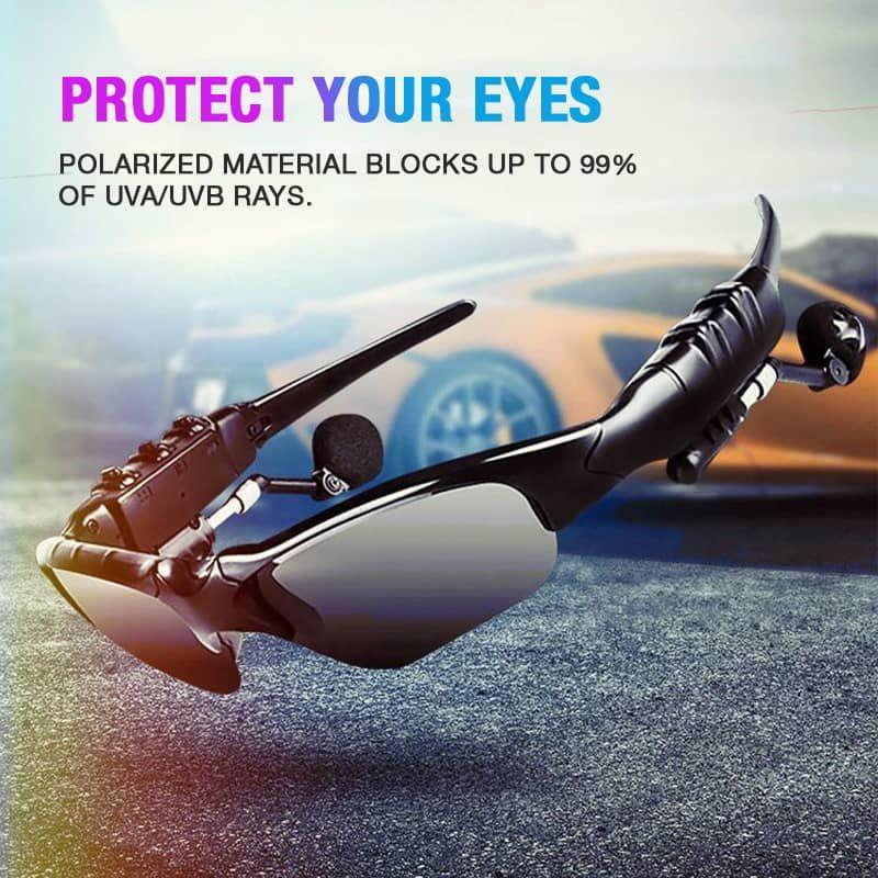 SMART BLUETOOTH SUNGLASSES STEREO HANDSFREE HEADSET【BUY 2 FREE SHIPPING】
