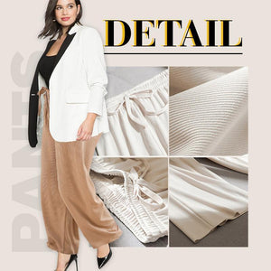 【Mother's Day Promotion-50% OFF】Ice Silk Wide Leg Pants Women