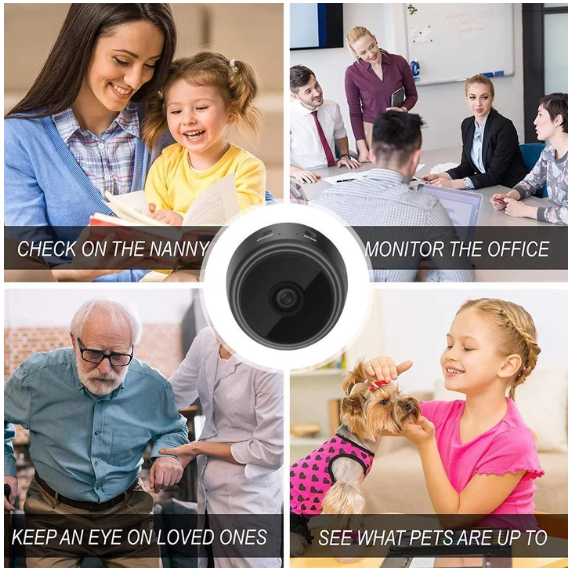 WiFi Camera 1080P HD Wireless Camera  Night Vision Camcorders
