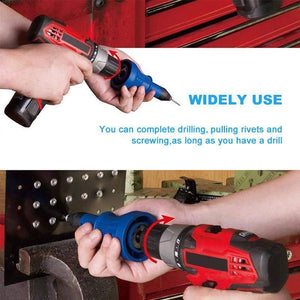 Made in Germany>> Detachable Rivet Gun Drill Adapter:50% OFF TODAY!!