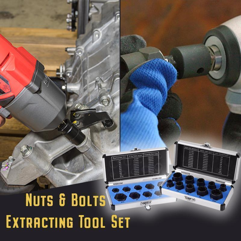 🎄Christmas Deals:50% OFF!!!🔥  Nuts And Bolts Extracting Tool Set(Made in Germany)