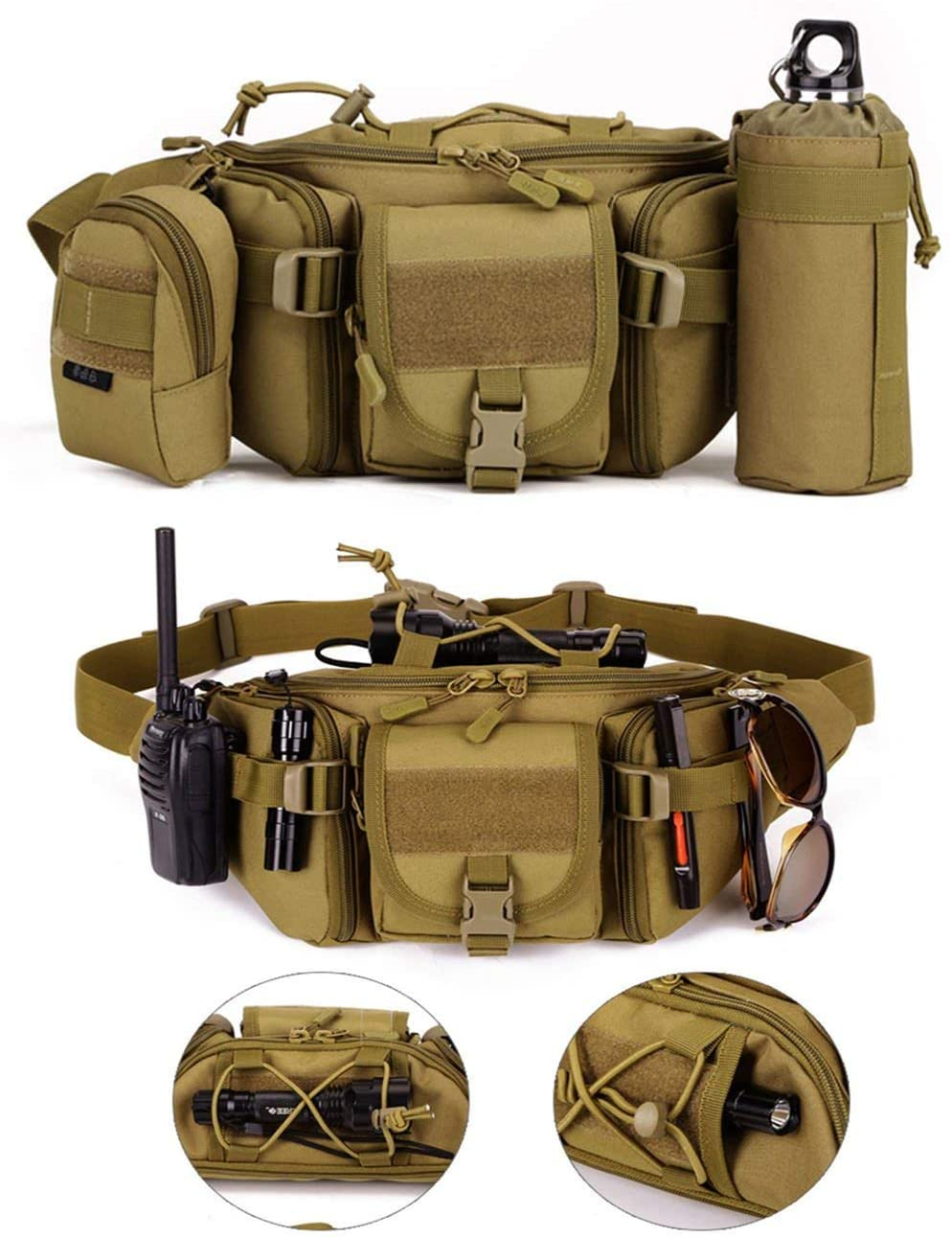 【BUY 2 SAVE $5】Utility Tactical Fanny Pack