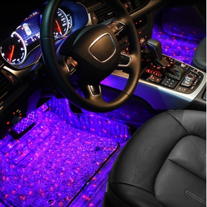 50% OFF-Car Interior Ambient Lights- (Contains 4 light bars)