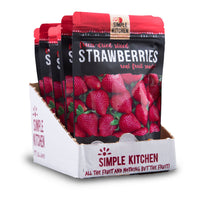 FOOD Freeze-Dried Strawberries - 6 Pack