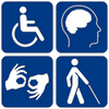 International disability signs, Wikimedia