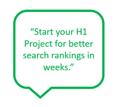 Focus on web headlines and benchmark better search engine rankings within a few weeks