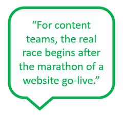 The real work happens after website go-live: SEO, search rankings and customer engagement