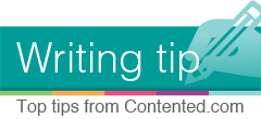 Writing tip from Contented.com: sorting lists