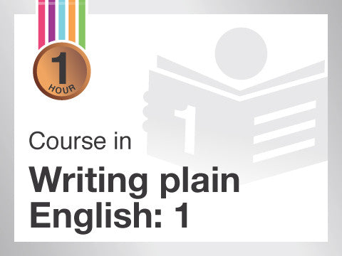 Course in Writing plain English business documents | Write concisely and structure business documents well | from Contented.com for New Zealand, Australia, Canada, the USA, the UK, Europe, Canada, China, India, Malaysia, Indonesia, Singapore, Thailand