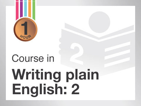 Course in Writing plain English for business documents | Learn about sentences construction, choosing plain words and active verbs | from Contented.com for New Zealand, Australia, Canada, the USA, the UK, Europe, Canada, China, India, Malaysia, Indonesia, Singapore, Thailand