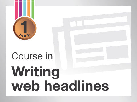Course in Writing headlines in web content from Contented.com for New Zealand, Australia, Canada, the USA, the UK, Europe, Canada, China, India, Malaysia, Indonesia, Singapore, Thailand